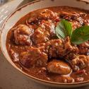 Chicken Thighs with  Spicy Tomato Sauce