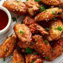 أجنحة الدجاج بوفالو وينجز