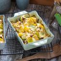 MAGGI Herzensküche cremiger Lauch Kartoffel Auflauf