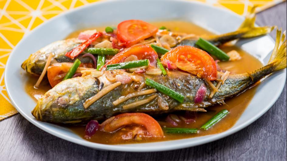 Ikan Goreng Halia