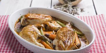 Κοτόπουλο φούρνου με λαχανικά