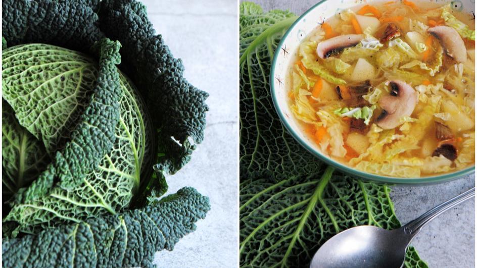 Zupa kapuściana z ziemniakami