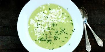 Zupa krem z kabaczka, ziemniaków i chrzanu