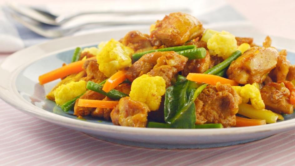 Turmeric Fried Chicken