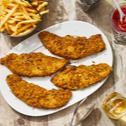 Ofen-Schnitzel