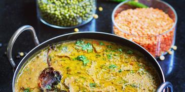 Rajasthani Dal Panchmel Recipe