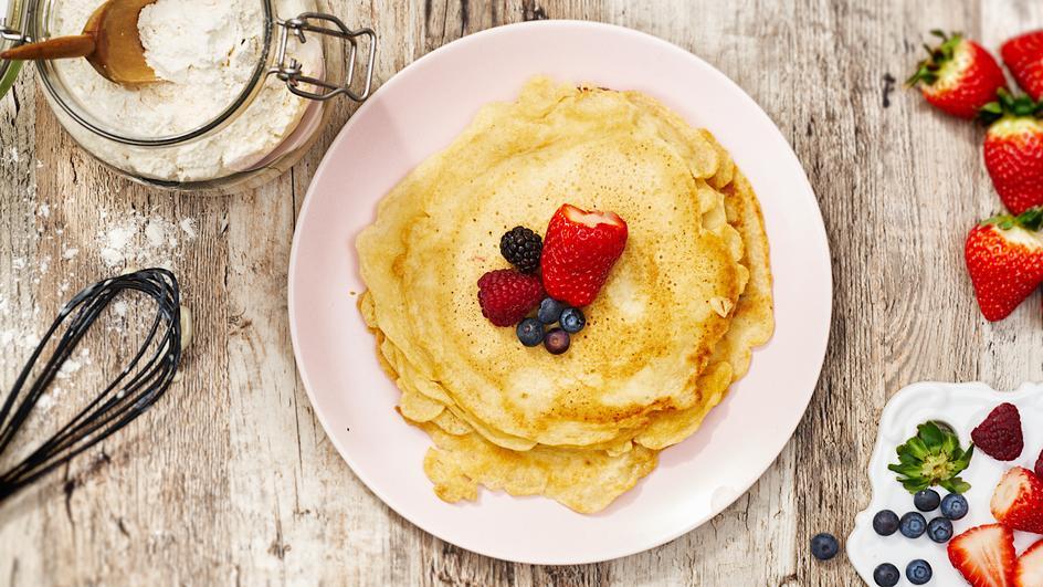 Pfannkuchen ohne Ei (vegan)