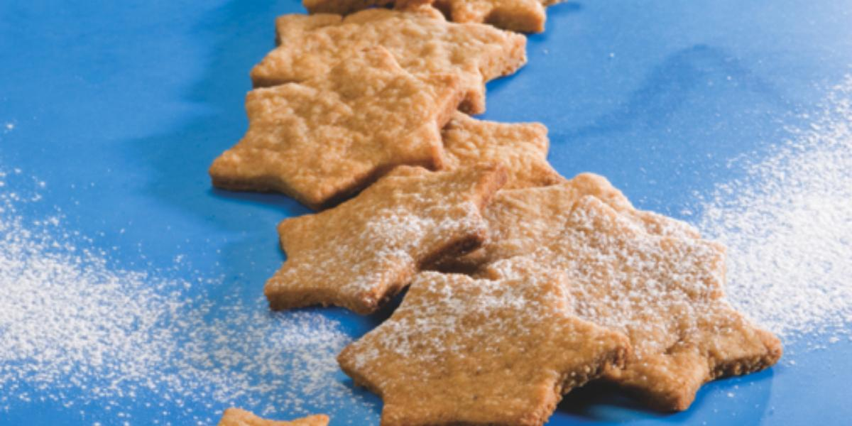 Postres fáciles de galletas de estrellitas