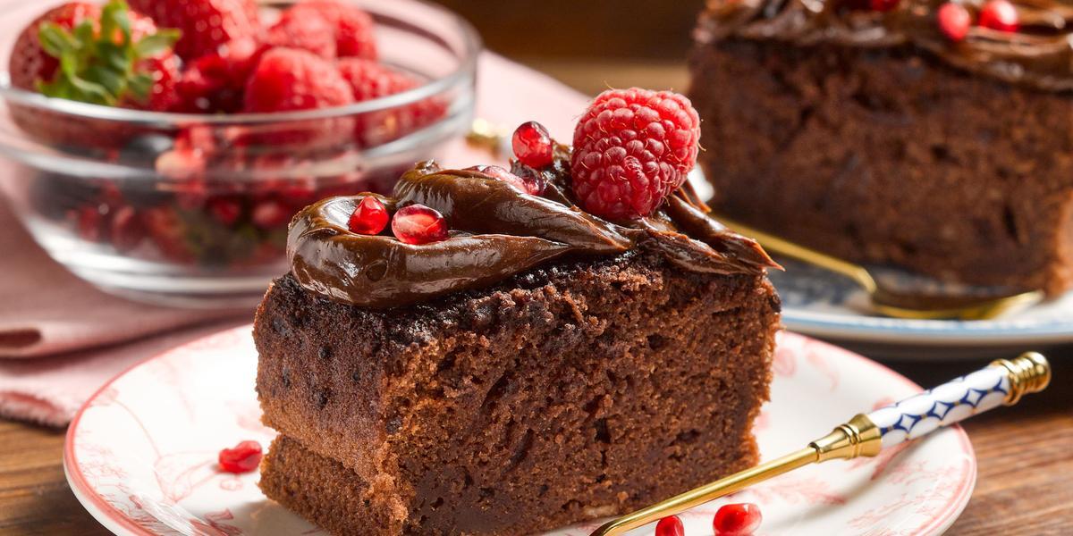 Pastel Doble Chocolate sin Lactosa