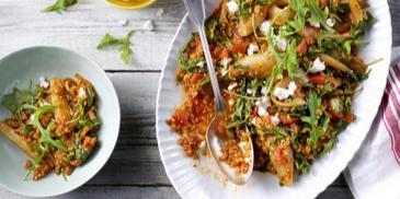 Vegetarische Mediterrane Ratatouille gerecht
