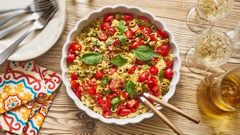 Couscous-Datteltomaten-Salat