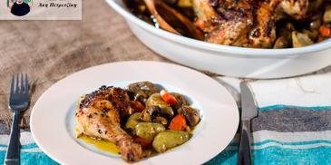 Κοτόπουλο πικάντικο από τον Άκη Πετρετζίκη