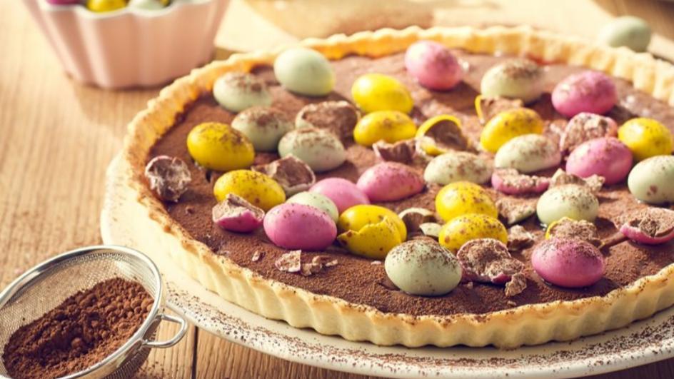 Tarta z czekoladowym kremem