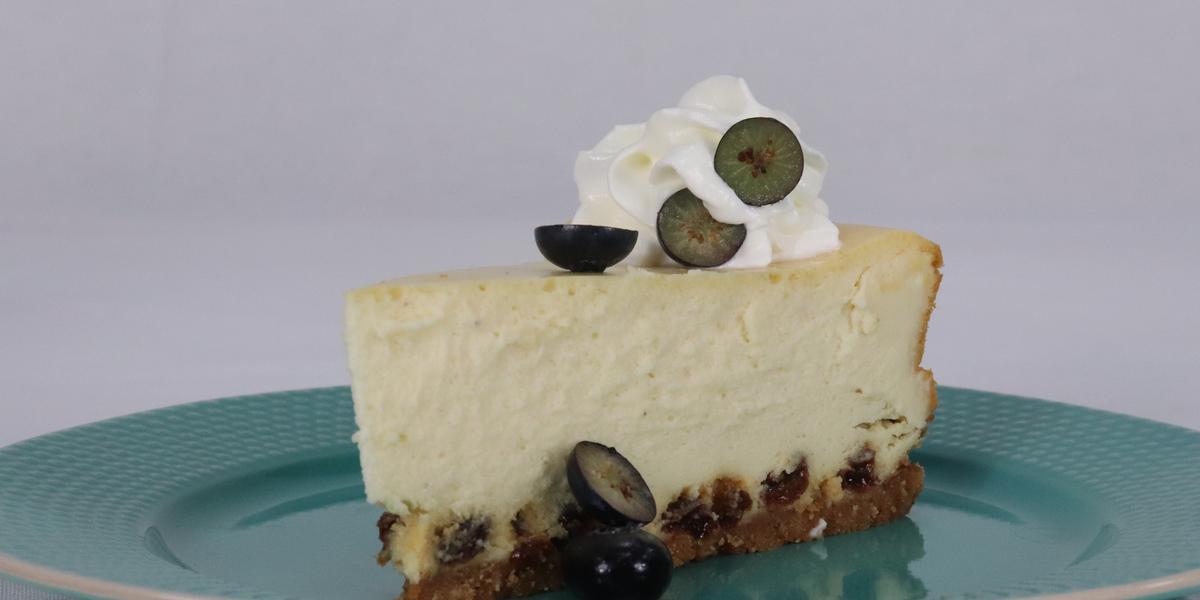 Rum and Raisin Cheesecake