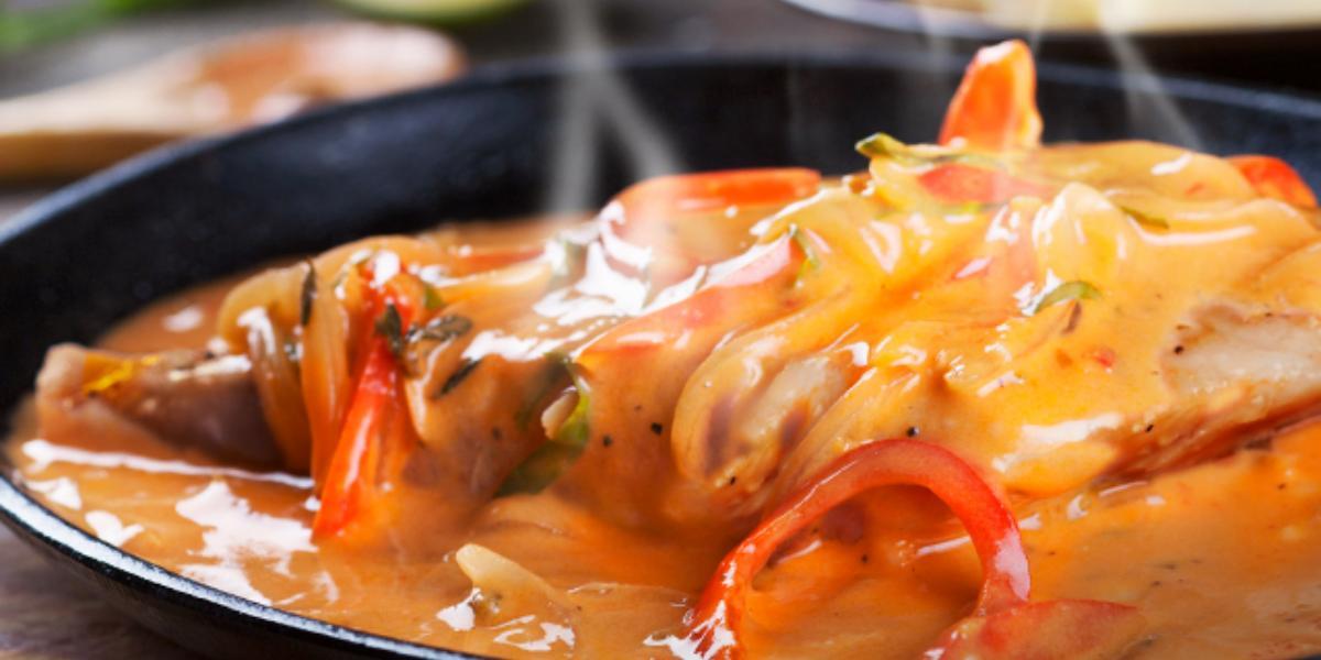 Filete de pescado a la caribeña