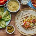 Wraps mit Chili con Carne