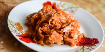 Varza cu carne de porc