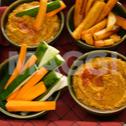 Trempette de haricots / sauce de haricots