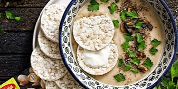Mushroom Tiramisoup