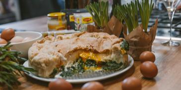 Velykinis ispaniškas pyragas – tarta da Pasqualina