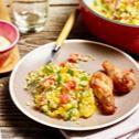 Gemüse-Couscous-Salat