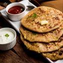 Soya & Dal Parantha Recipe