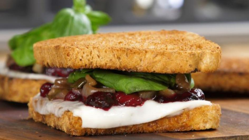 Superfood-Sandwich mit Relish