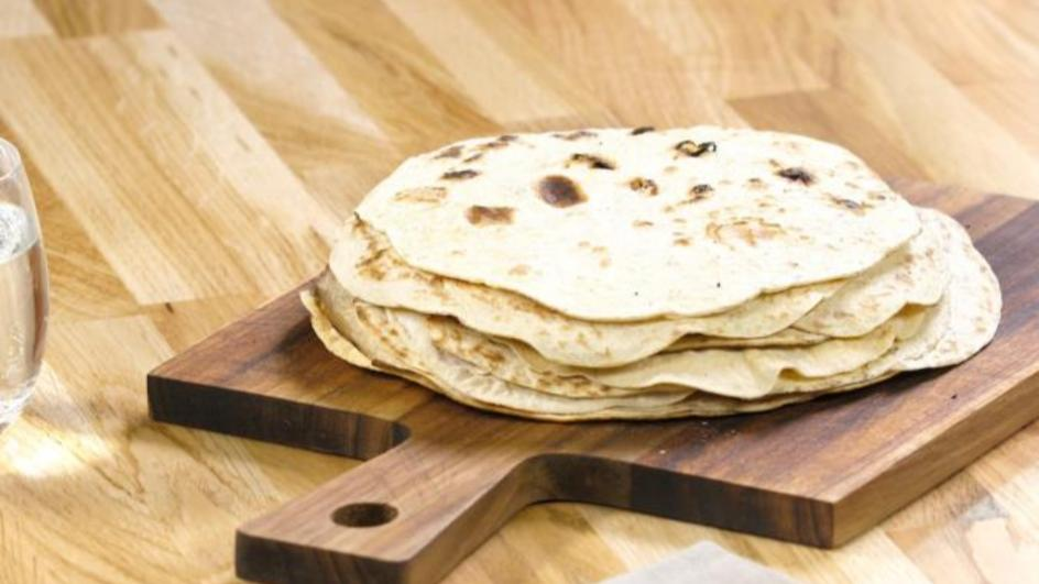 Tortilla-Fladen