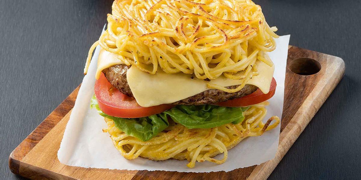 Hamburguesa de pasta