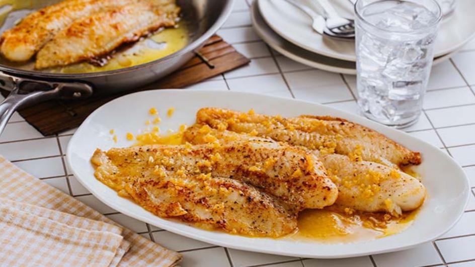 Buttered Fish Fillet Maggi