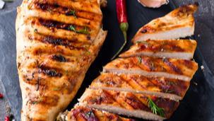 Šťavnatý kurací steak