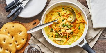 Linsen-Curry mit Hähnchen