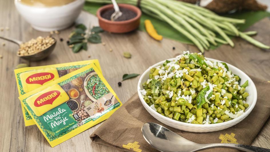 Karamani (Long Beans) Poriyal Recipe