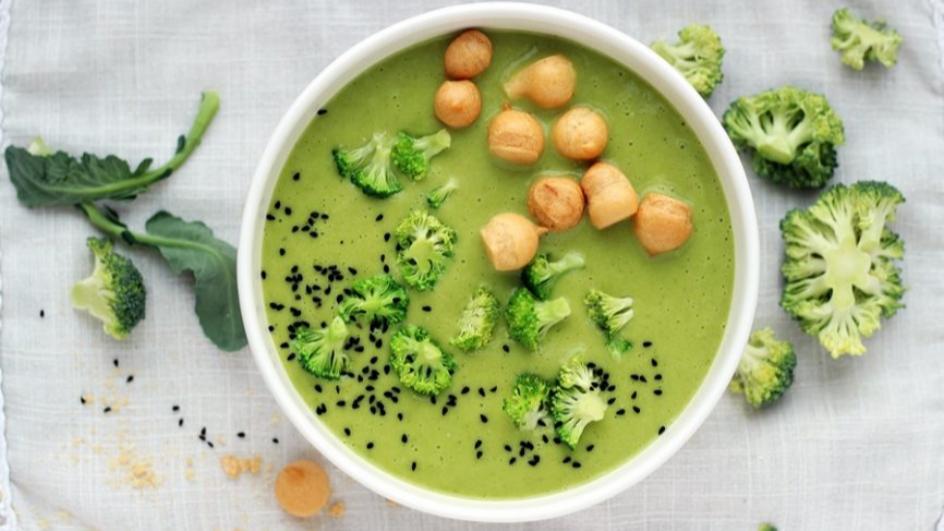 Zupa krem z brokułów i kalafiora