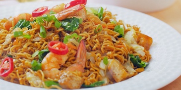 Mamak Fried MAGGI Mee Curry