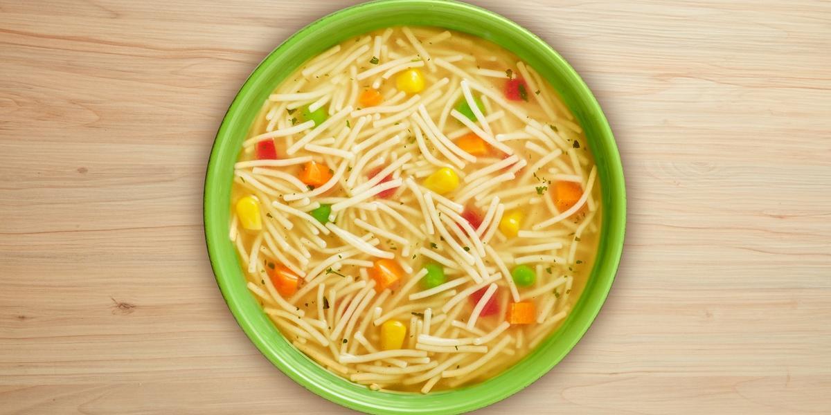 Sopa de fideos con vegetales MAGGI