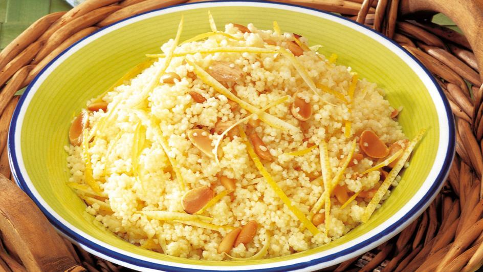 Buttered Lemon Couscous