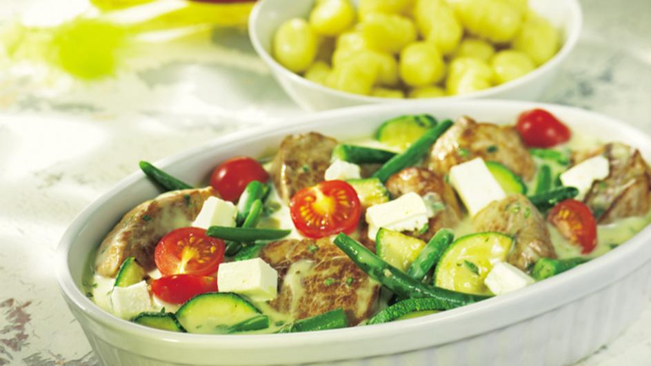 Zucchini-Filet-Pfanne