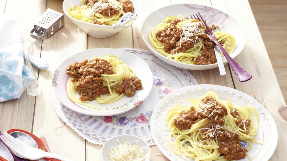 Maggi Fix für Tomaten Bolognese