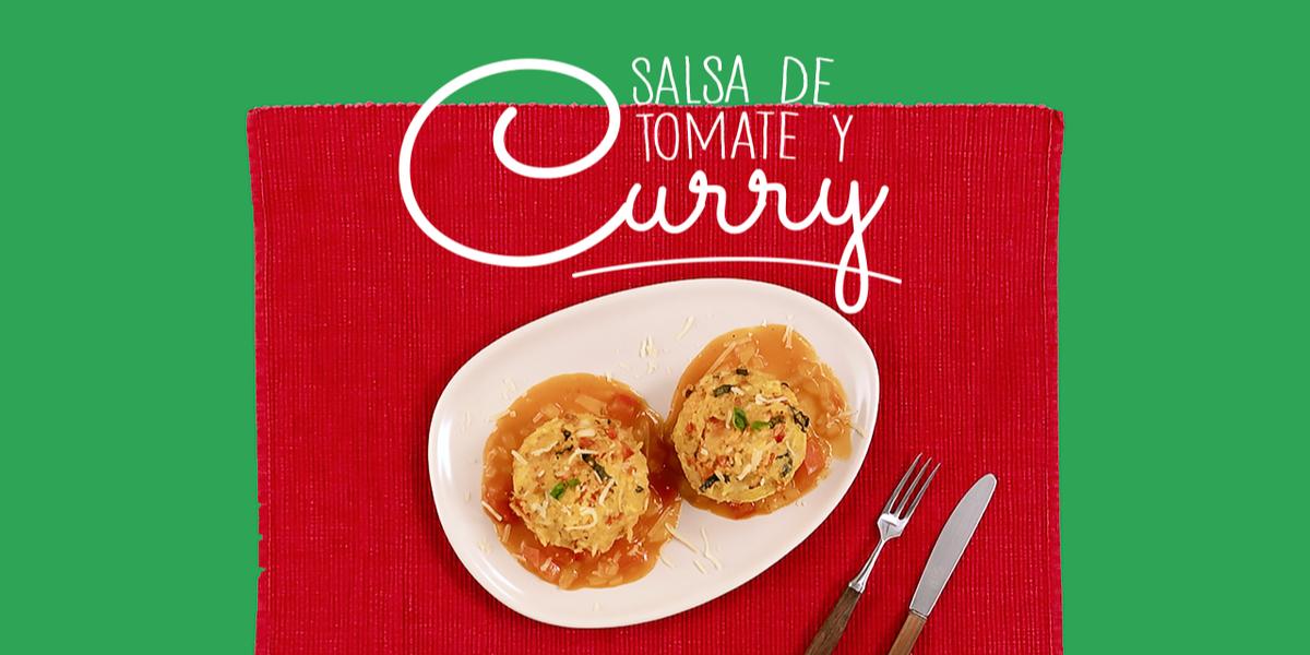 Salsa de tomate y curry