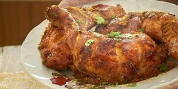 Luscious Baked Chicken