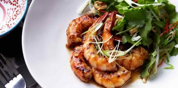 Honey Soy BBQ Prawns
