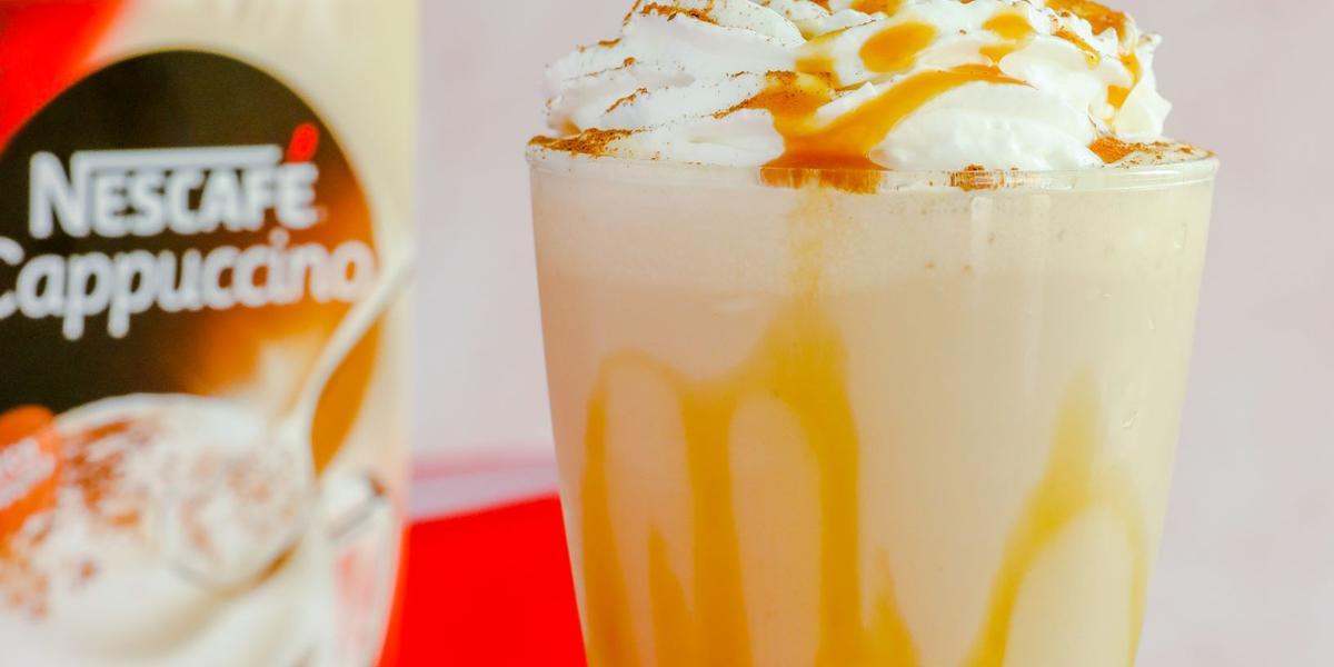 Cappuccino Helado con Caramelo