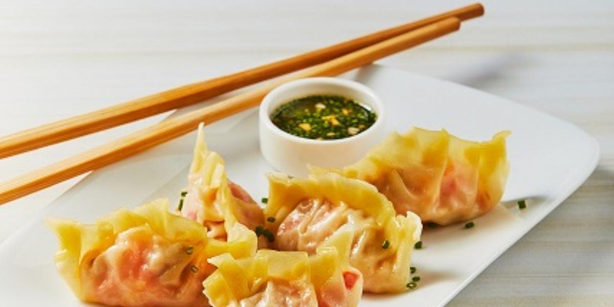 Dumplings de atún