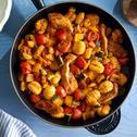 Schnelle Gnocchi-Pfanne mit Huhn und Gemüse
