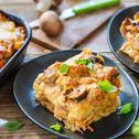 Lasagne mit Hähnchenbrust und Champignons