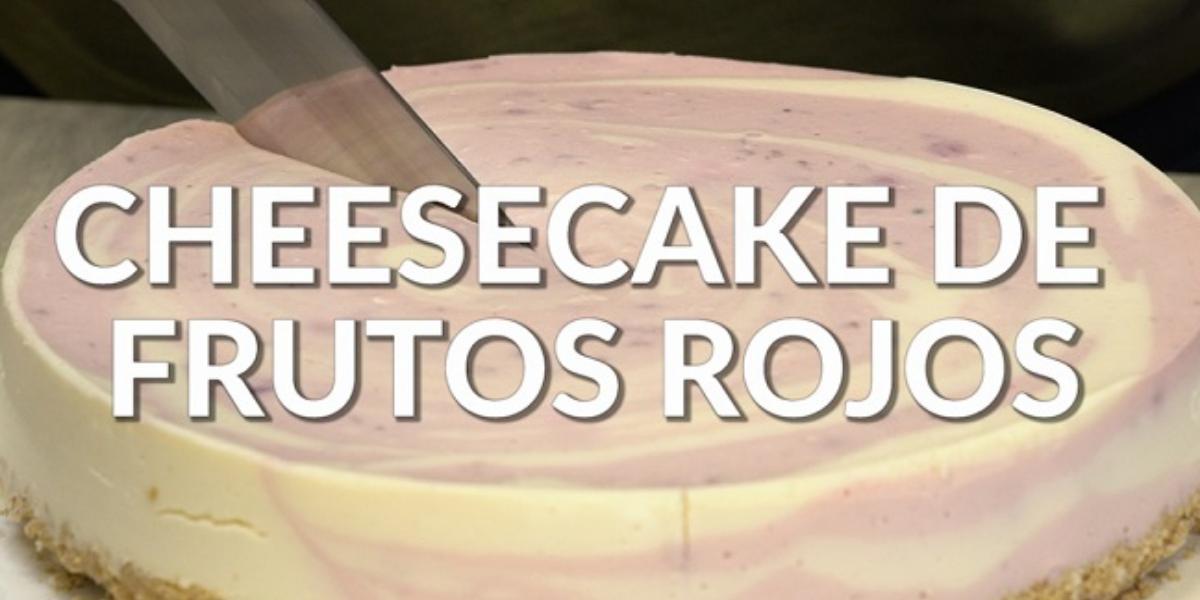 Cheesecake frío de frutos rojos