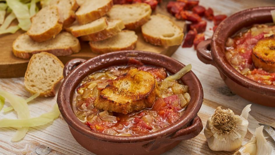Gemüsetöpfchen aus Mallorca