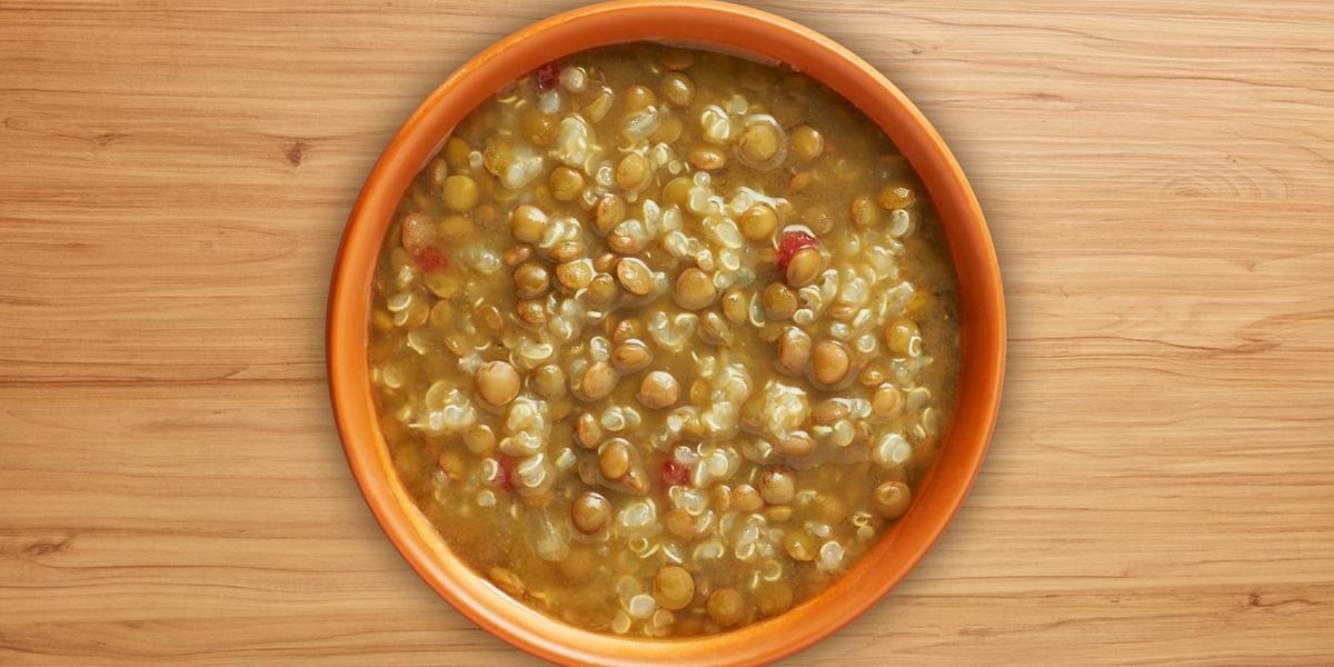 Sopa de lentejas con quinoa MAGGI