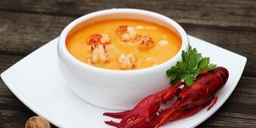 Wykwintna zupa z raków z dolnośląskiego stołu